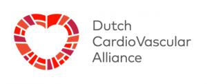 Logo DCVA: Onderzoekers, artsen en financiers bundelen krachten in Dutch CardioVascular Alliance